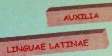 AUXILIA  LINGUAE LATINAE